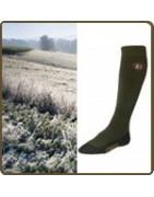 Chaussettes de chasse, vêtement de chasse