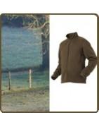 Polaire de chasse, vêtement de chasse
