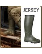 Bottes chasse intérieur jersey - Bottes caoutchouc