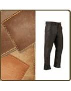 Pantalon chasse cuir